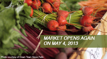 Market reopens in May