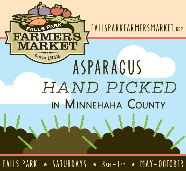 Falls Park Farmers Market Opens Tomorrow!